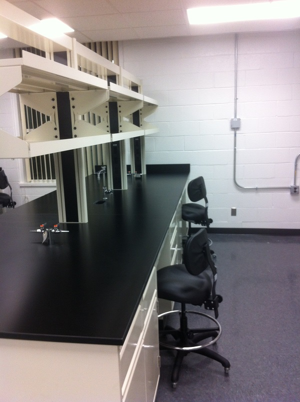 Bench NO. 3 in Catalyst synthesis lab